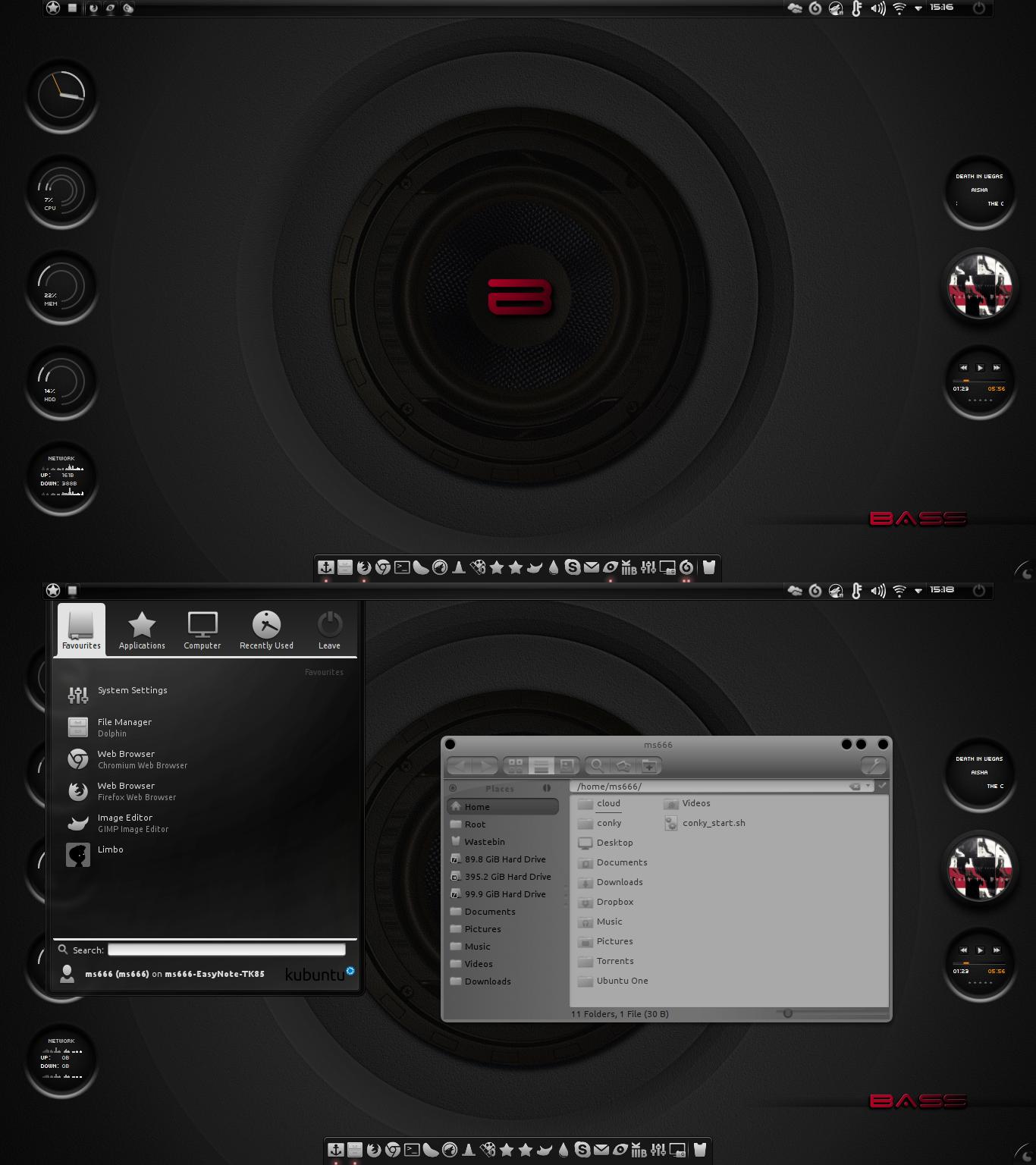 Deep Bass KDE by miguelsanchez666