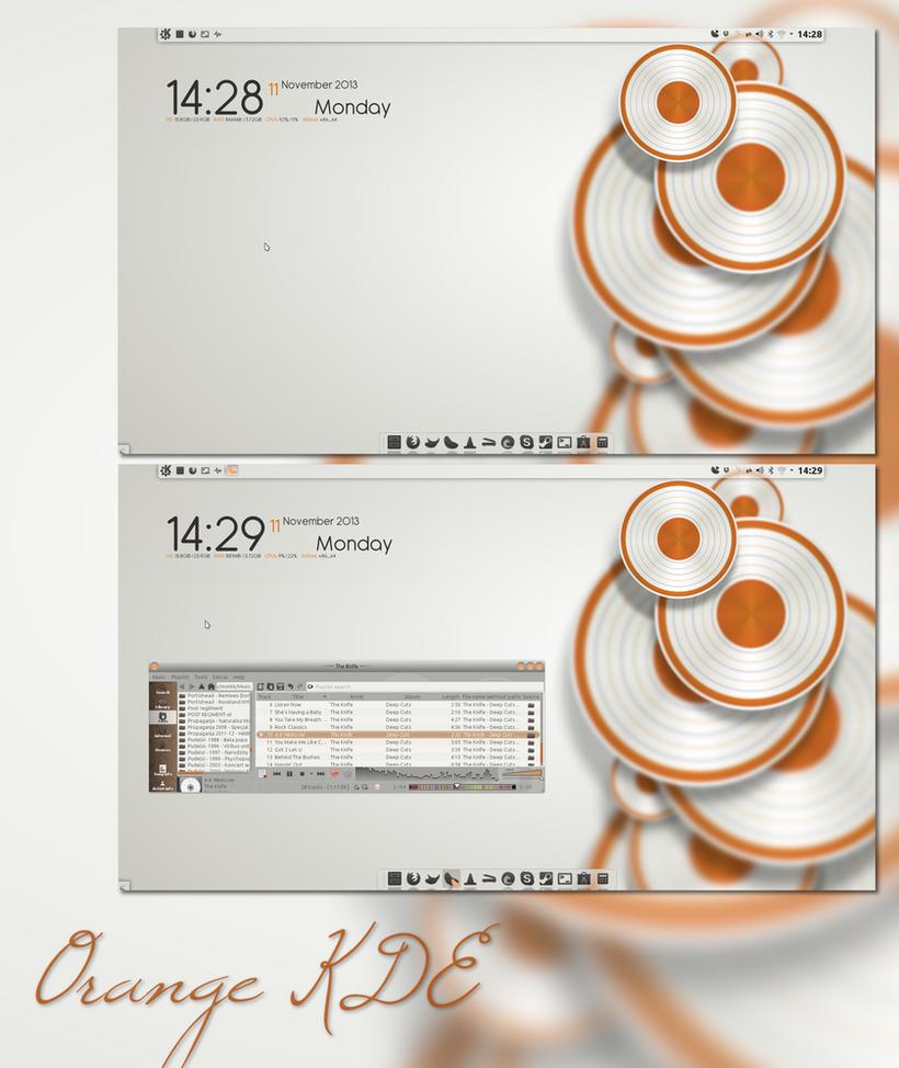 Orange KDE by miguelsanchez666