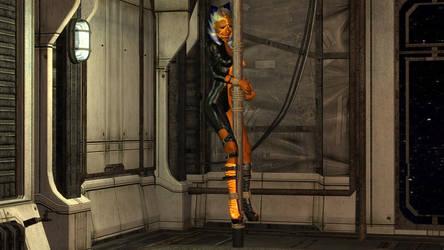 Pole Dancer (May) by skygaggedrim
