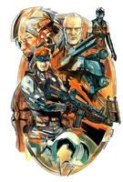 Metal Gear Solid Color by SergioSandoval