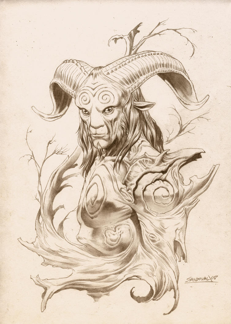 Pan's Labyrinth Original concept art by SergioSandoval on ...