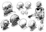 Hellboy 2 Original concept art