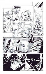 ART FOR SALE. DCU Online Legends vol 9 pg 7