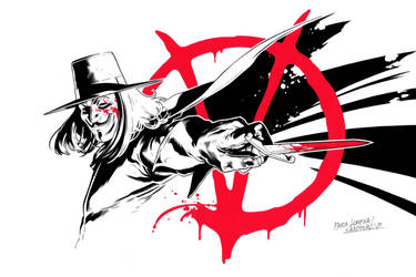 V for Vendetta Commission