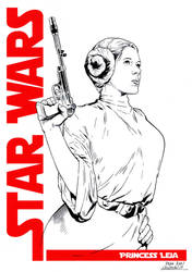 Princess Leia Commission