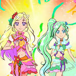 Fake leak for Tropical Rouge Precure