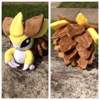 Sandslash Plush by SuperKawaiiStudios