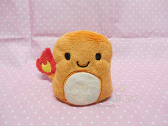 Charmander Beanie Plush by SuperKawaiiStudios