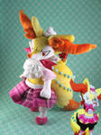 Contest Outfit for Official Braixen Plush by SuperKawaiiStudios