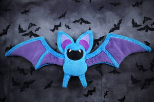 Zubat Beanie Plush by SuperKawaiiStudios