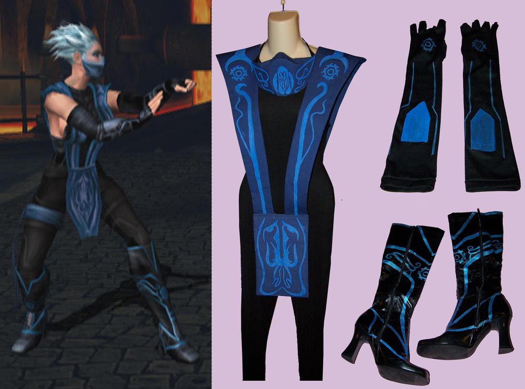 Frost From Mortal Kombat Cosplay By Velvetrosecreations On