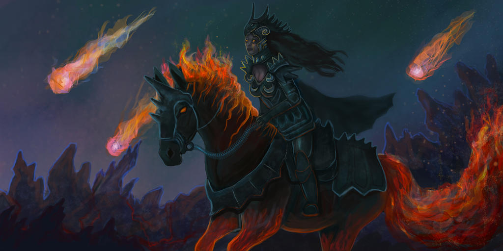 Hell Knight - commission by Cinder-Cat