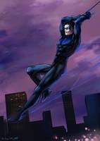 Nightwing by akensnest