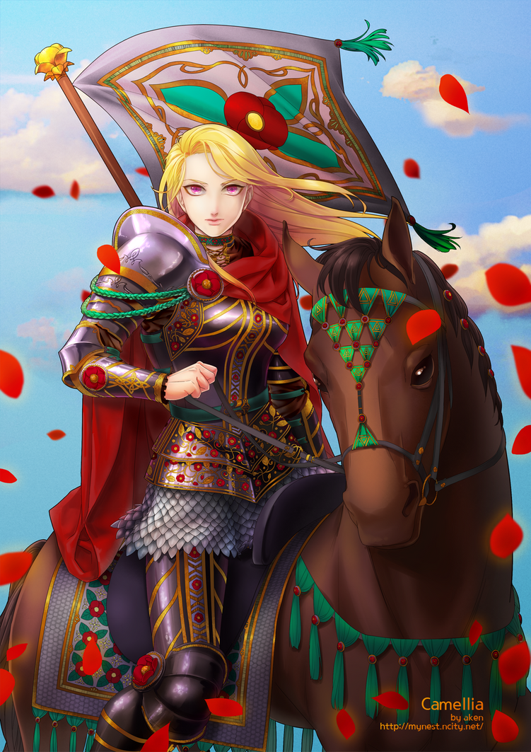 Camellia by akensnest