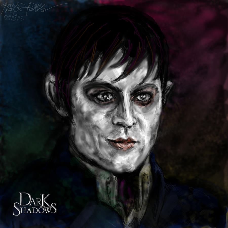 Dark Shadows Portrait by CATtheMinion