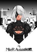 2B - Nier Automata by Razelth