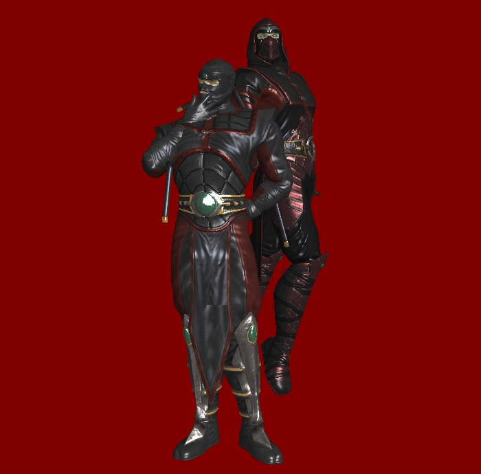 MK9: Ermac (Primary and Alternate, Remixed) by KoDraCan on ...
