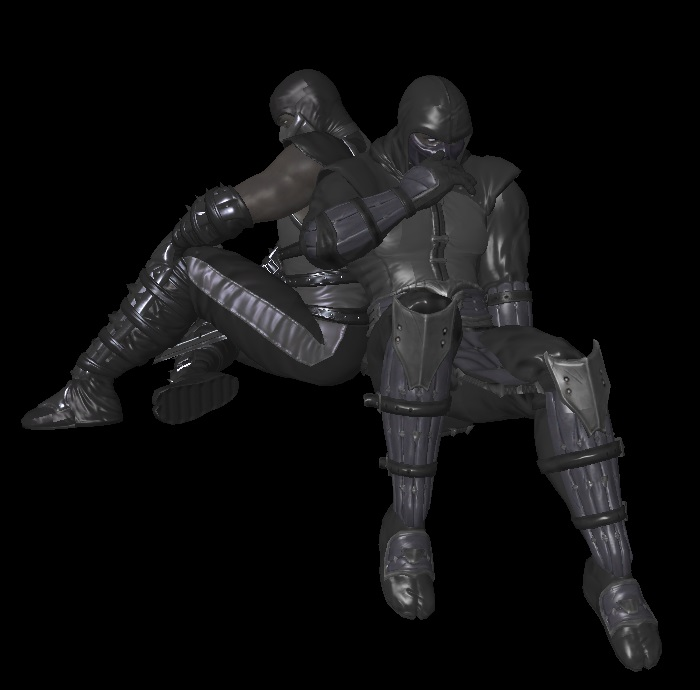 MK9: Noob Saibot (Primary And Alternate, Remixed) By