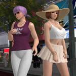 DOA Sisters - Urban Girls