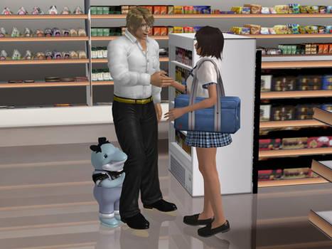 Rinko and Steff Meet