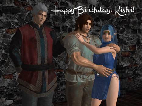 Happy Birthday, Kishi!