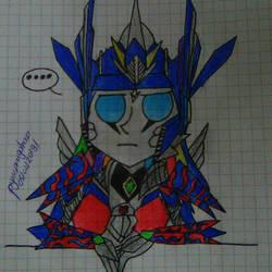 Optiwern Prime by pyrusdragolnoid