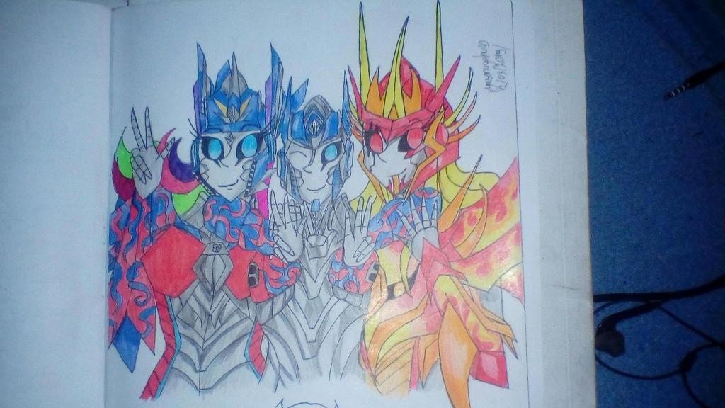 Siblings Prime s by pyrusdragolnoid