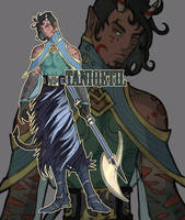 Pollaxe demon auction [OPEN] by taniqetil0149