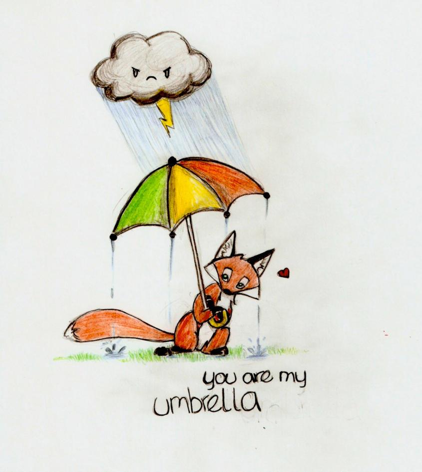 You Are My Umbrella. by wiggan