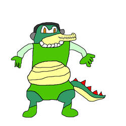 Vector as Alligator Grunt by fifimcfeef