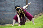 Avatar the Last Airbender: Toph Beifong Cosplay