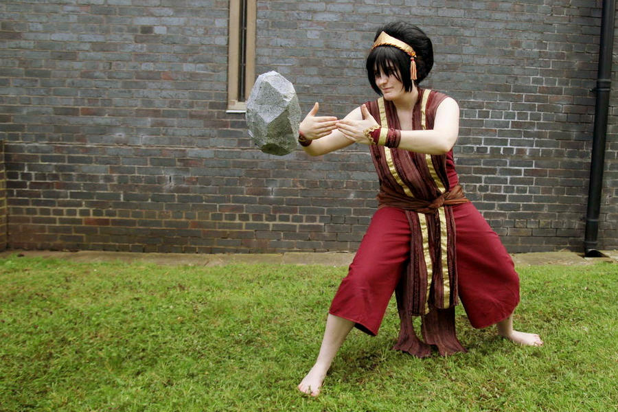 Avatar: Toph Beifong Earthbender Cosplay by GoldenMochi