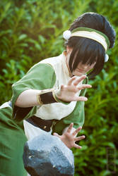 Avatar: The Last Airbender - Toph Beifong by GoldenMochi