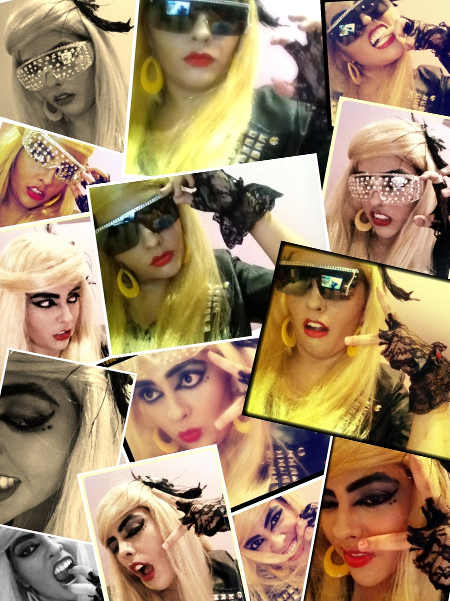 Gaga Style Makeup by KathyLioncourt