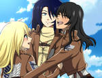 [P.C with Rosepurpledemon] Stella, Musa and Rose