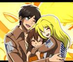 [R.Q for iheartereri] Eren, Kyou and Sydney family
