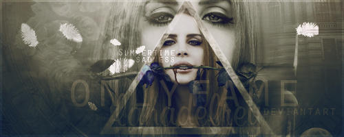 Summertime sadness   Lana del Rey - Firma