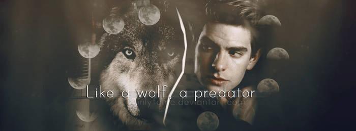 Like a wolf, a predator   Andrew Garfield