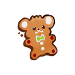 [STICKER] ginger bear by miyabau