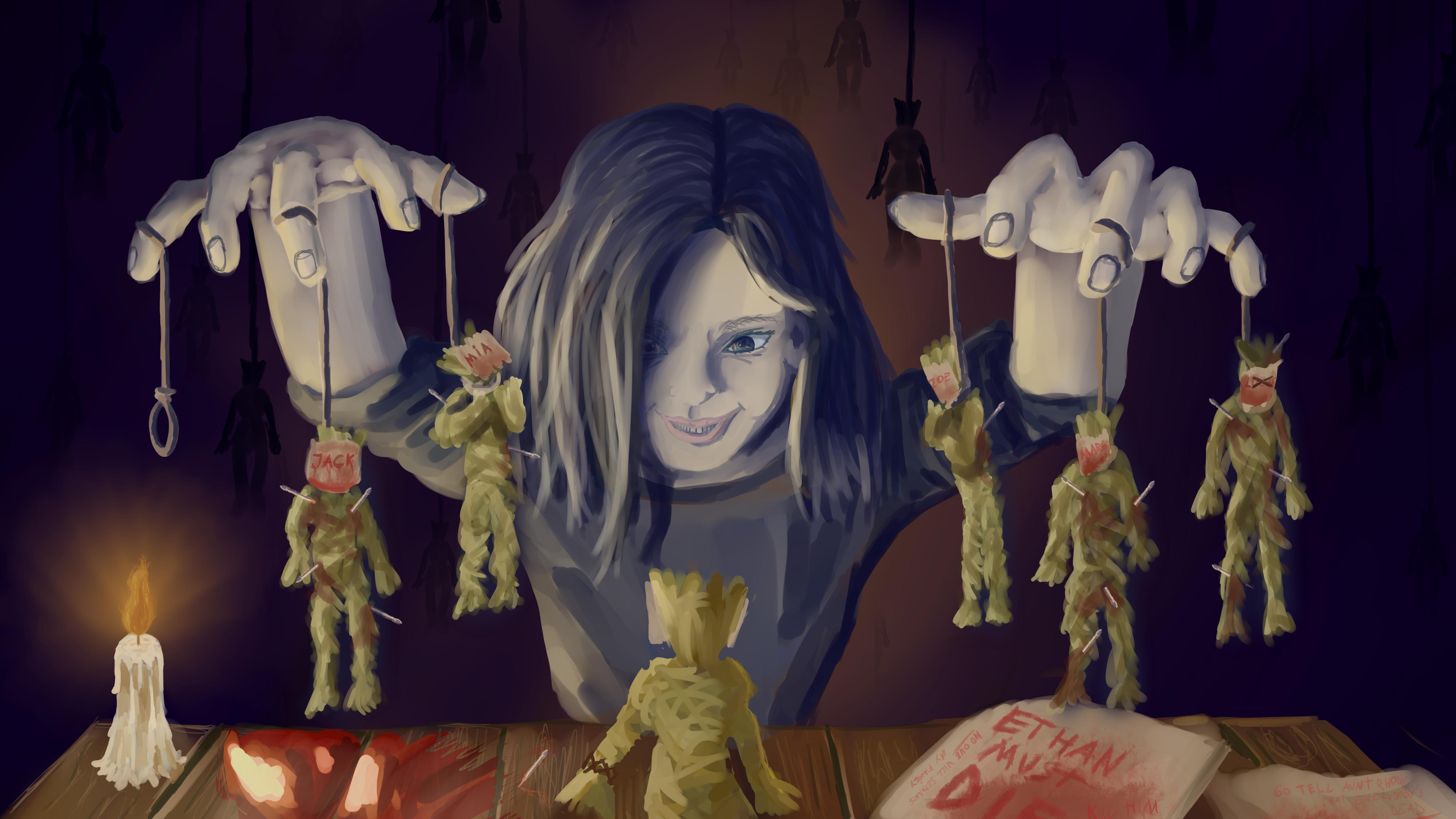 Resident Evil 7 Eveline S Family Game By Frylander1 On Deviantart