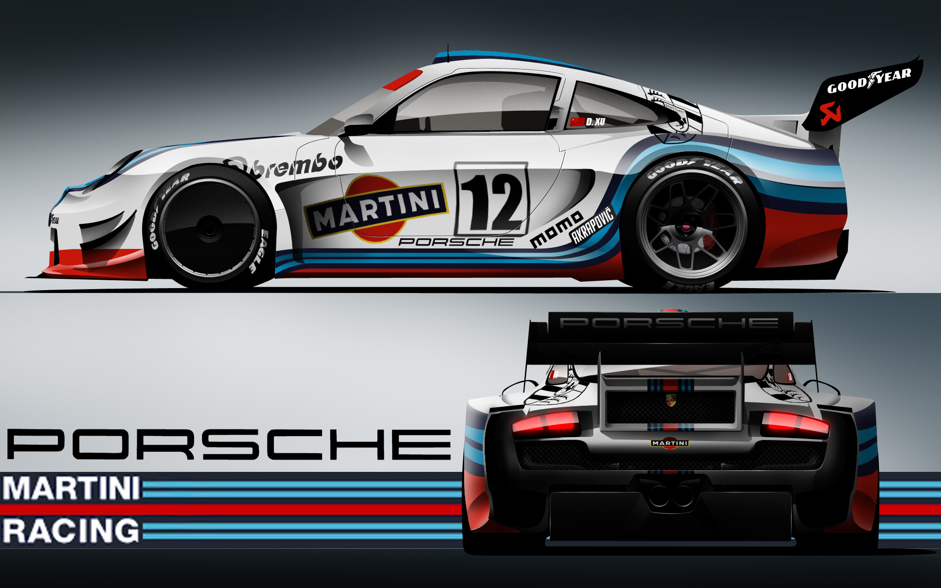 martini racing porsche by karayaone on deviantart. Black Bedroom Furniture Sets. Home Design Ideas