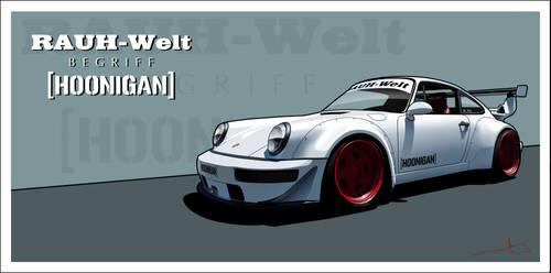 Raurh well Porsche by KarayaOne