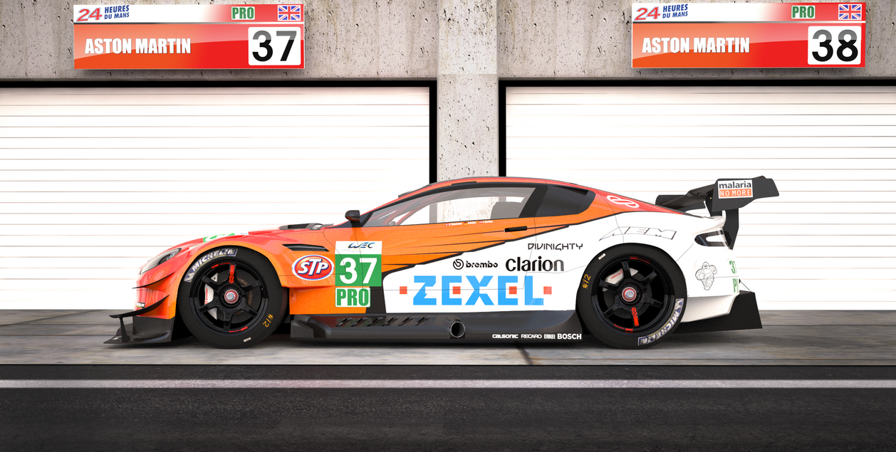 Aston Martin Race Car By KarayaOne ...