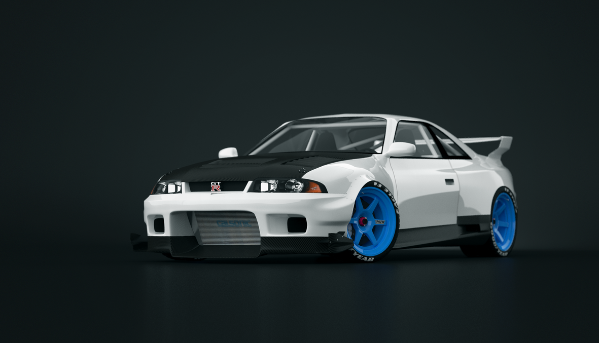 Nissan Skyline r33 tuned by KarayaOne