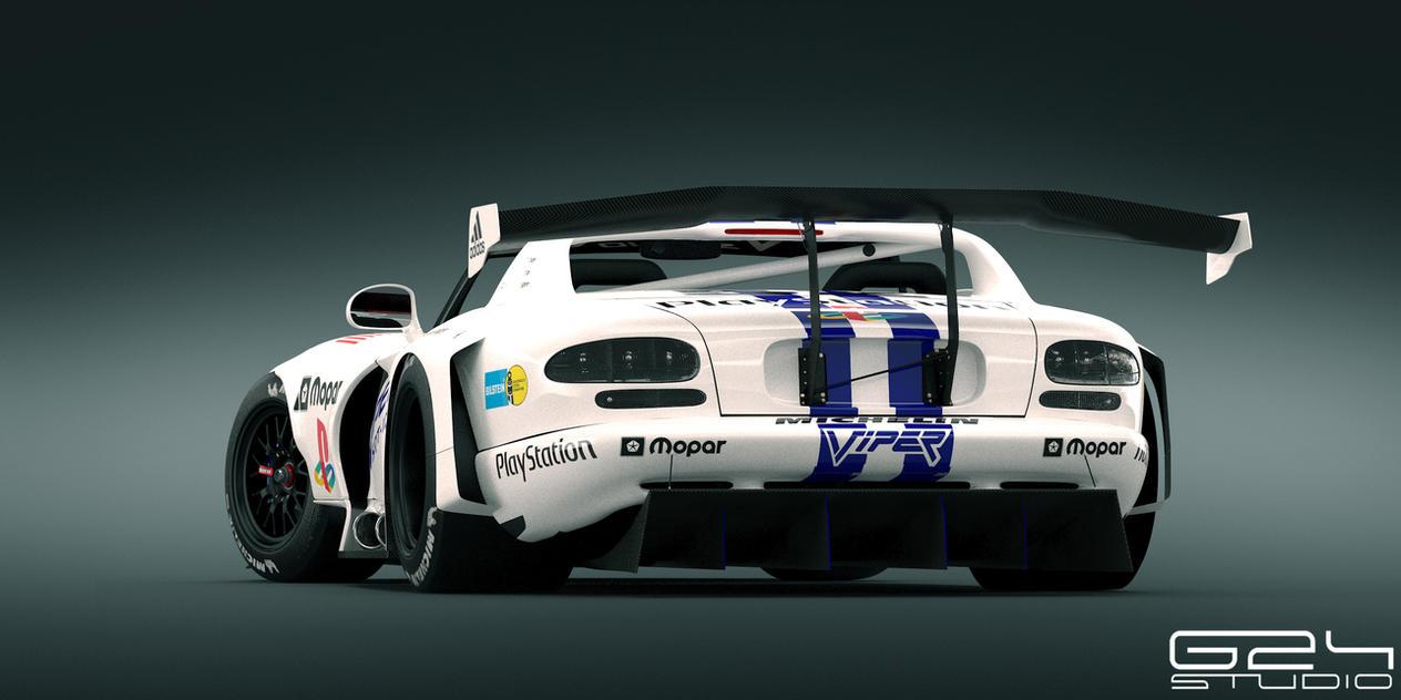 Dodge Viper  rt10 race spec Rear by KarayaOne