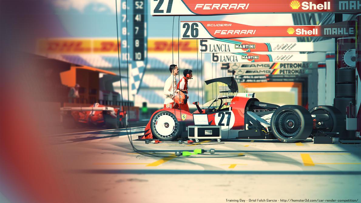 Training day - Ferrari LMR1 by KarayaOne