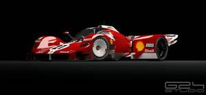 Ferrari LMR1 Front