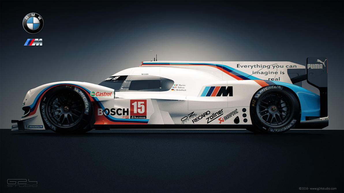 Bmw m10 lmp1 by karayaone on deviantart for Garage automobile le mans