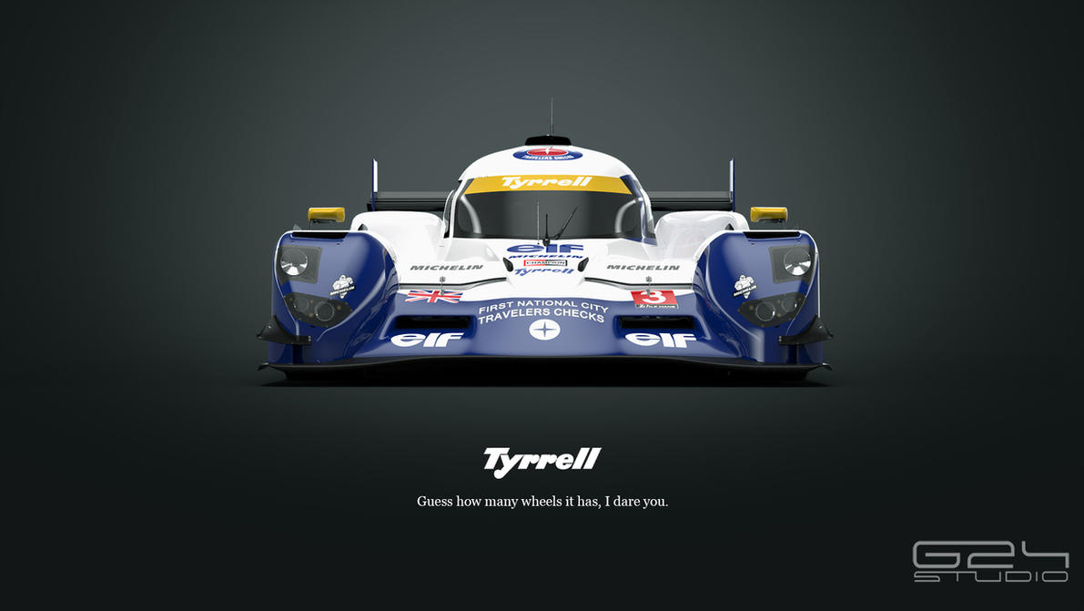 Tyrrell P016 LMP1 by KarayaOne
