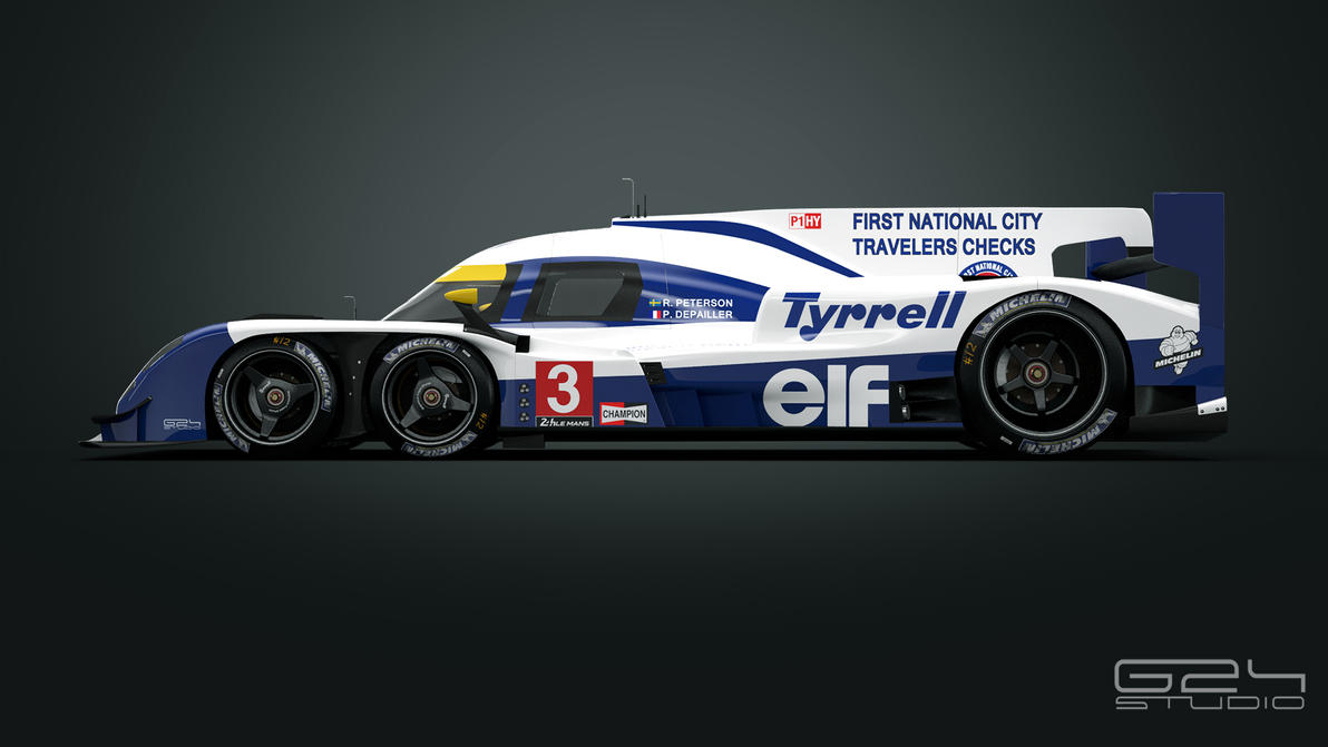 Tyrrell P016 LMP1  - side by KarayaOne
